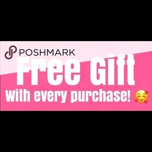 FREE GIFT WITH EVERY PURCHASE 😊